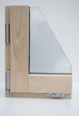 ventanas de madera pasivas