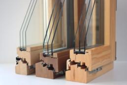 Ventanas de mixtas, madera - aluminio