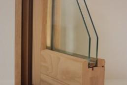 perfil de ventanas de madera