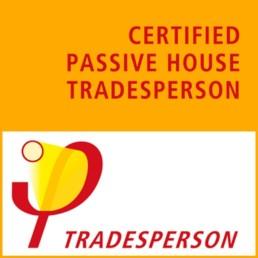 Logo tradesperson