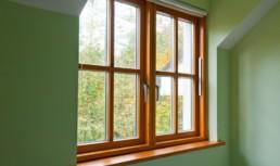 Passive wooden windows